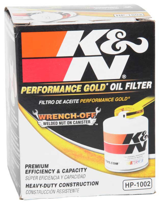 K&N HP-1002 Engine Oil Filter 1967-1968 Opel Kadett