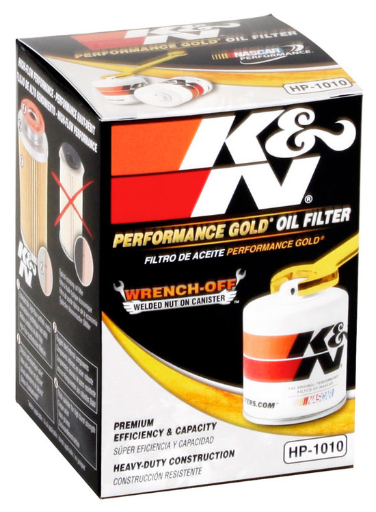 K&N HP-1010 Engine Oil Filter 1983 Mazda 626