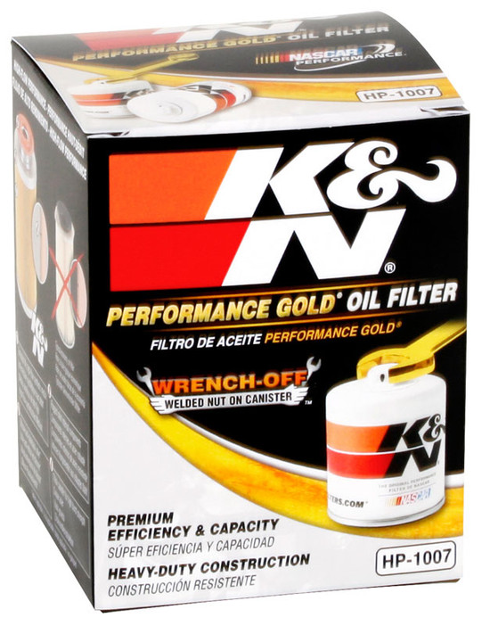 K&N HP-1007 Engine Oil Filter 1975-1976 Buick Century