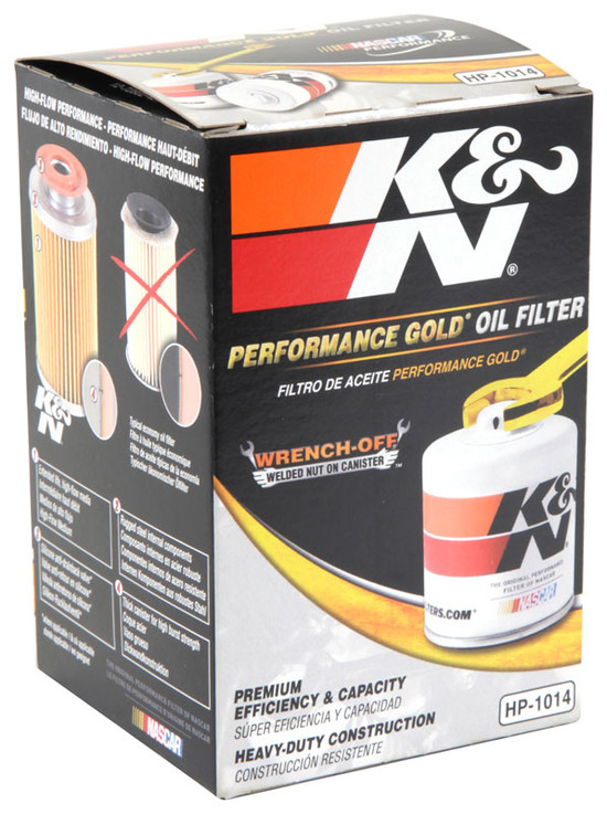K&N HP-1014 Engine Oil Filter 2002-2005 Ford Thunderbird