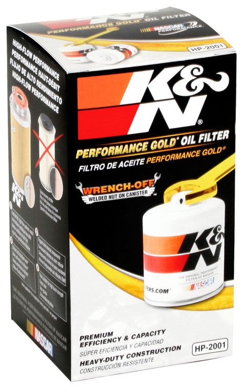 K&N HP-2001 Engine Oil Filter 1980-1984 Buick Skylark