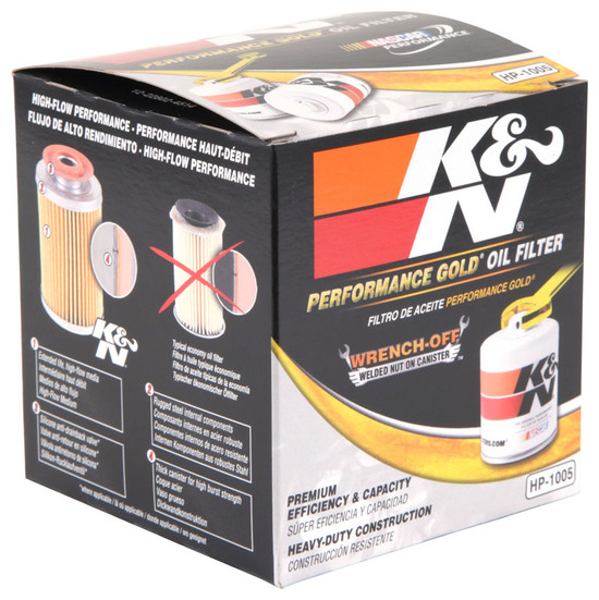 K&N HP-1005 Engine Oil Filter 1971-1990 Dodge Colt