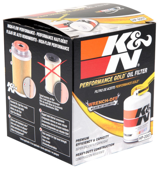 K&N HP-2007 Engine Oil Filter 1981 Isuzu I-Mark