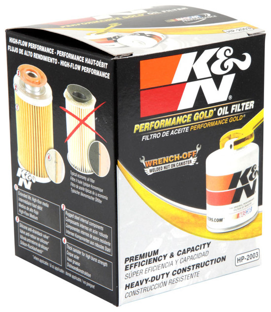 K&N HP-2003 Engine Oil Filter 1959-1960 American Motors Rebel