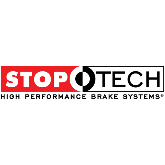 128.40086CL StopTech Sport Cryo Cross Drilled and Slotted Brake Rotor; Front Left 2013 - 2017 Honda Accord