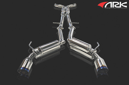 ARK Performance SINGLE TIP, DUAL EXIT, 2.5 PIPE 4.5 TIP Exhaust System/Exhaust Pipe SM0901-0209G