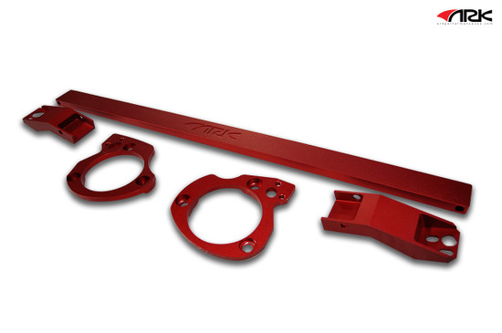 ARK Performance STRUT BAR: COLOR: RED/Suspension Strut ST0703-0308FR