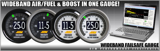 AEM Electronics 30-4900 Air / Fuel Ratio Gauge