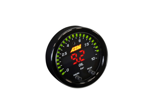 AEM Electronics 30-0307 Engine Oil Pressure Gauge