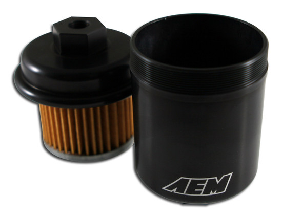 AEM Electronics 25-200BK Fuel Filter