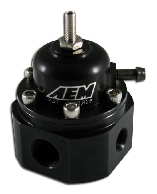 AEM Electronics 25-302BK Fuel Injection Pressure Regulator