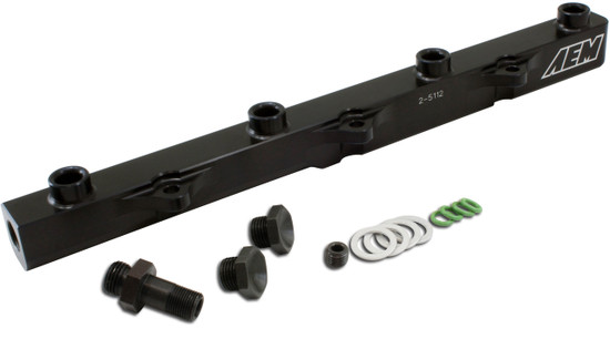 AEM Electronics 25-112BK Fuel Injector Rail