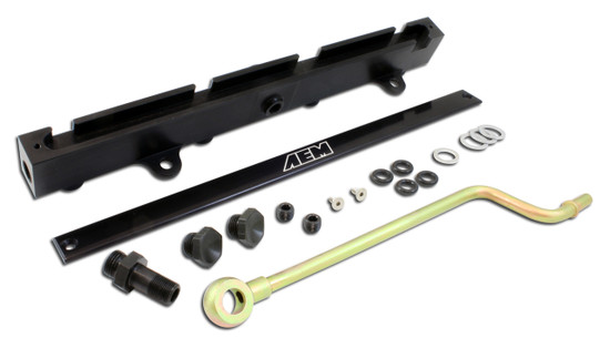 AEM Electronics 25-111BK Fuel Injector Rail