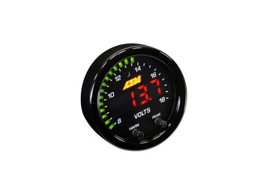 AEM Electronics 30-0303 Voltmeter Gauge