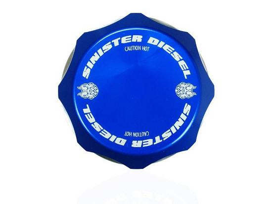 Sinister Diesel SD-DC-7.3 Engine Coolant Reservoir Cap