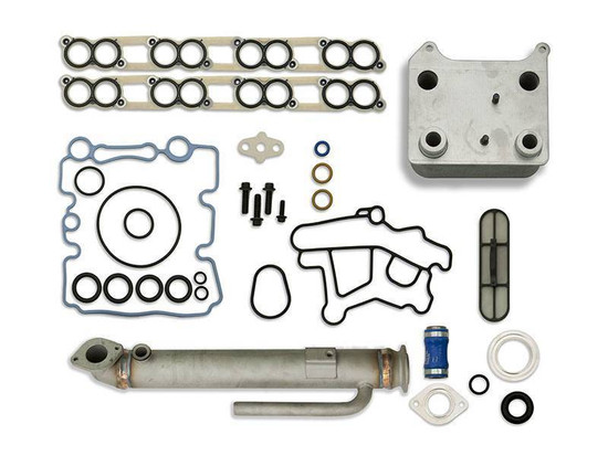Sinister Diesel SD-BS-6.0-EGRC-RC Engine Oil Cooler Kit