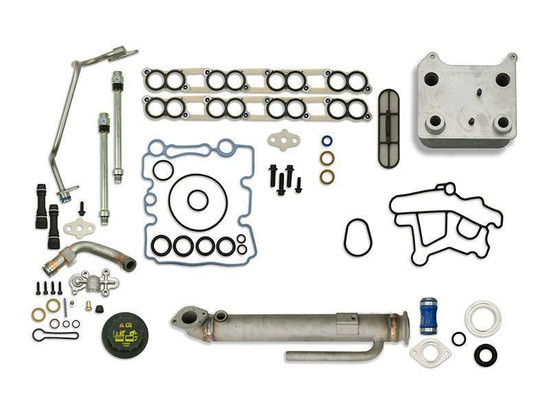 Sinister Diesel SD-BS-6.0-EGRC-RC-UK-03 Engine Oil Cooler Kit