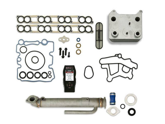 Sinister Diesel SD-BS-6.0-EGRC-RC-7015 Engine Oil Cooler Kit