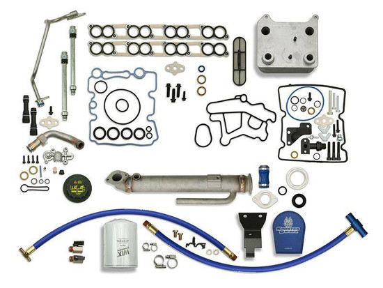 Sinister Diesel SD-BS-6.0-EGRC-RC-CF-UK-05 Engine Oil Cooler Kit