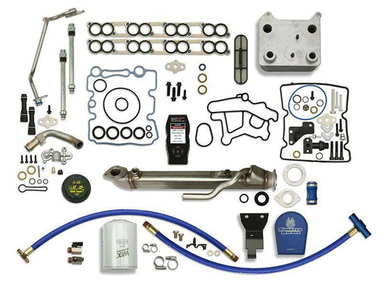 Sinister Diesel SD-BS-6.0-EGRC-SC-CF-7015-UK-05 Engine Oil Cooler Kit
