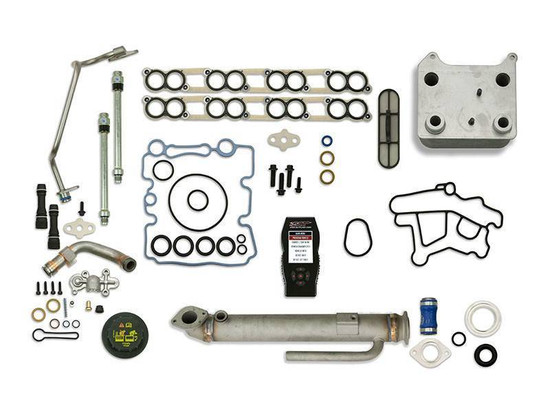 Sinister Diesel SD-BS-6.0-EGRC-RC-7015-UK-03 Engine Oil Cooler Kit