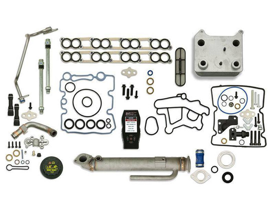 Sinister Diesel SD-BS-6.0-EGRC-RC-7015-UK-05 Engine Oil Cooler Kit