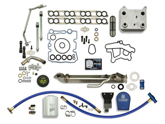 Sinister Diesel SD-BS-6.0-EGRC-SC-CF-5015-UK-03 Engine Oil Cooler Kit