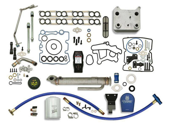 Sinister Diesel SD-BS-6.0-EGRC-RC-CF-7015-UK-05 Engine Oil Cooler Kit