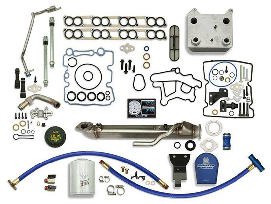 Sinister Diesel SD-BS-6.0-EGRC-SC-CF-5015-UK-05 Engine Oil Cooler Kit