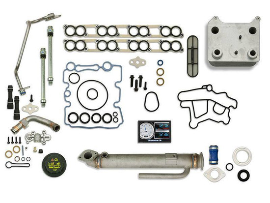 Sinister Diesel SD-BS-6.0-EGRC-RC-5015-UK-03 Engine Oil Cooler Kit