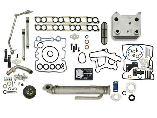 Sinister Diesel SD-BS-6.0-EGRC-RC-5015-UK-05 Engine Oil Cooler Kit