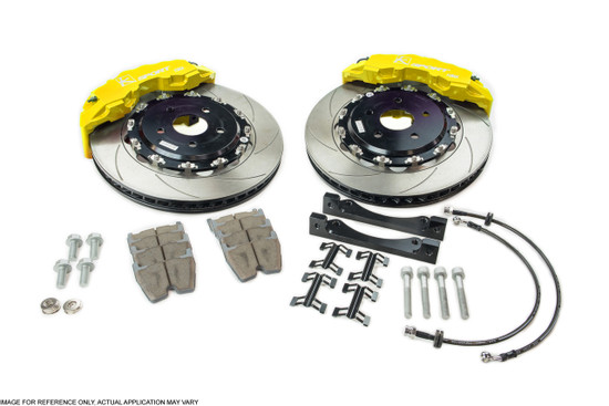 """Ksport BKAC010-841SO 356mm/14"""" Front Big Brake Kit 1990-1993 Acura Integra DA"""