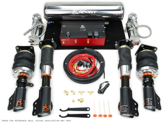 Ksport CTY440-AEX Air Suspension Kit/Air Bags 2008-2014 Toyota Previa   2.4L / 3.5 Engine