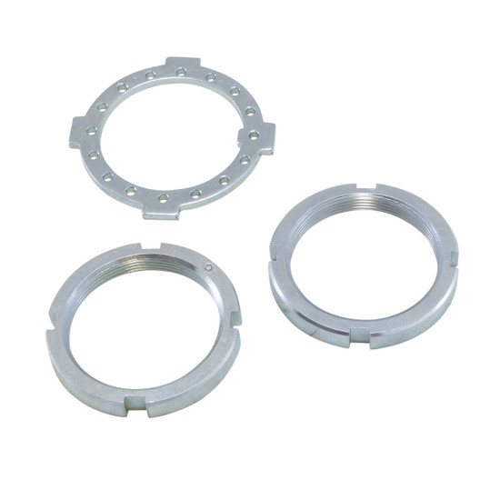 Yukon Gear AK D60F-NUTS Spindle Nut/Washer Kit Fits Dana 60 front.