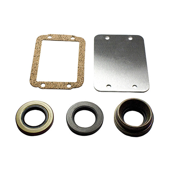 Yukon Gear YA W39147-KIT Disconnect Block Off Kit Fits Dana 30 with 27 spline axles. Includes block off plate, gasket and axle seals.
