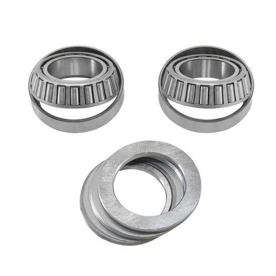 Yukon Gear CK GM8.5-HD Carrier Bearing Kit Fits GM 8.5'' with aftermarked positraciton. Includes Timken carrier bearings and races and carrier shim kit.