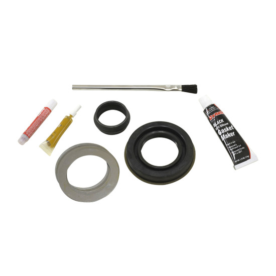 Yukon Gear MK C8.0-IFS Minor Differential Install Kit Fits Chrysler 8'' IFS. Includes pinion seal, complete shim kit, pinion nut, crush sleeve (if applicable), baffles and slingers (if applicable), marking compound and brush.