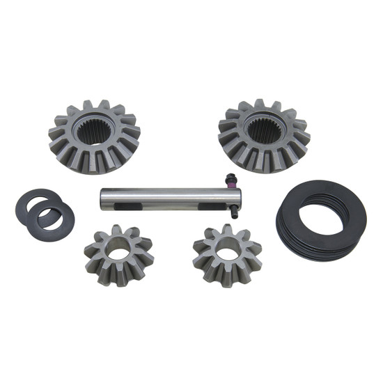 Yukon Gear YPKC8.25-S-27 Spider Gear Set Fits Chrysler 8.25'' standard open differential with 27 spline axles.Yukon spider gear sets and clutch kits are manufactured to meet or exceed OE spefications for years of long life.