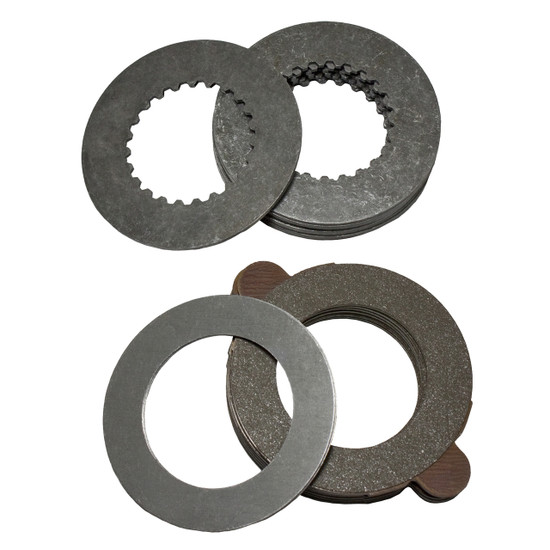 Yukon Gear YPKGM12-PC-18 Spider Gear Set Fits GM 12 bolt car and truck Dura Grip positraction, 18 stack clutches.Yukon spider gear sets and clutch kits are manufactured to meet or exceed OE spefications for years of long life.