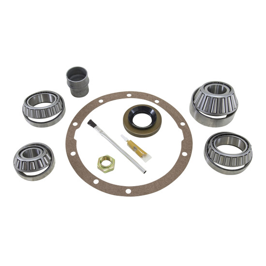 Yukon Gear BK TV6 Differential Bearing Kit Fits Toyota V6. Uses Koyo bearings and races along with high quality small parts. Includes carrier bearings and races, pinion bearings and races, pinion seal, crush sleeve, pinion nut, crush sleeve, marking