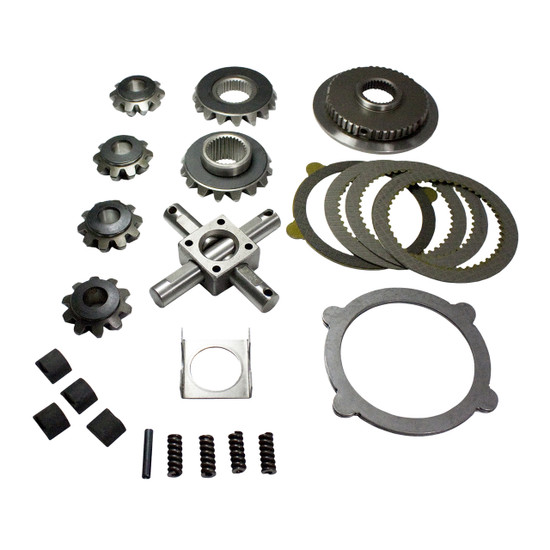 Yukon Gear YPKF9-P-28-REB Trac Loc Positraction Rebuild Kit Fits Ford 9'' Trac Loc positraction, 28 spline.Yukon spider gear sets and clutch kits are manufactured to meet or exceed OE spefications for years of long life.