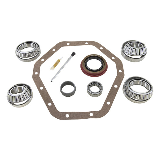 Yukon Gear BK GM14T-B Differential Bearing Kit Fits '89-'97 GM 10.5''. Uses Timken bearings and races along with high quality small parts. Includes carrier bearings and races, pinion bearings and races, pinion seal, crush sleeve, pinion nut, crush sl