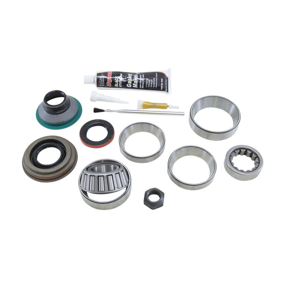 Yukon Gear BK D44-JAG Differential Bearing Kit Fits Dana 44 Jaguar rear. Uses Timken bearings and races along with high quality small parts. Includes carrier bearings and races, pinion bearings and races, pinion seal, crush sleeve, pinion nut, crush