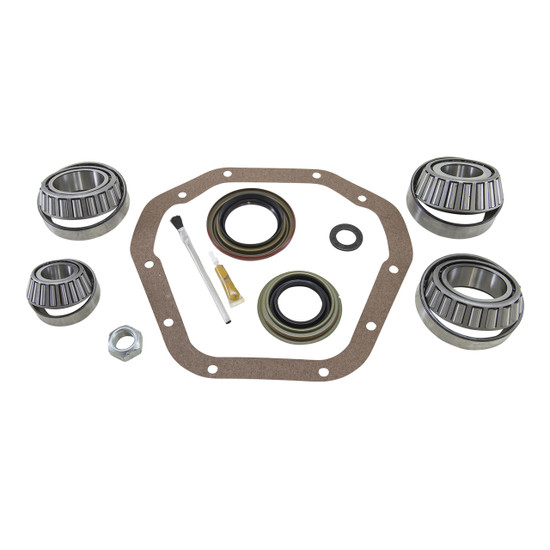 Yukon Gear BK D70-HD Differential Bearing Kit Fits Dana 70HD. Uses Timken bearings and races along with high quality small parts. Includes carrier bearings and races, pinion bearings and races, pinion seal, crush sleeve, pinion nut, marking compound