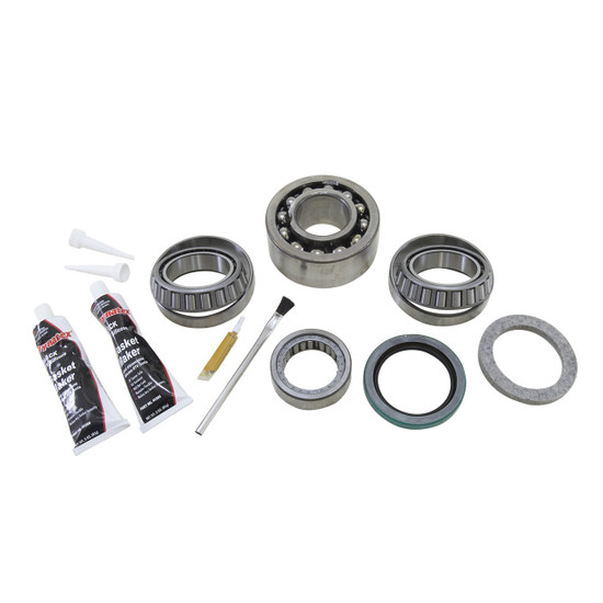 Yukon Gear BK GMHO72-A Differential Bearing Kit Fits GM HO72 w/ball bearing. Uses Timken bearings and races along with high quality small parts. Includes carrier and pinion bearings and races, pinion seal, crush sleeve, pinion nut, crush sleeve, mark