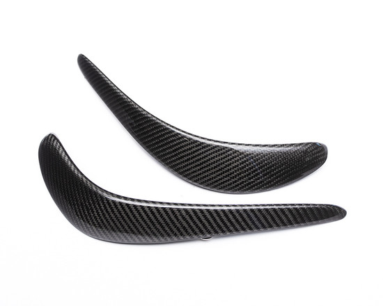 AP-VIPG5-601-HBFV Carbon Fiber Upper Front Bumper Canard Pair SRT Viper Agency Power
