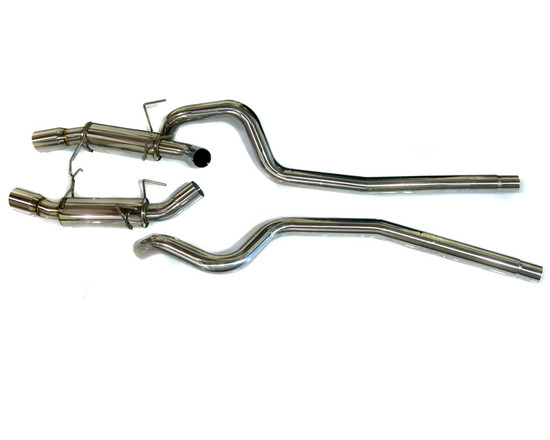 AP-50S197-170-HBFV Race Tuned Catback Exhaust 11-12 Ford Mustang 5.0 Agency Power