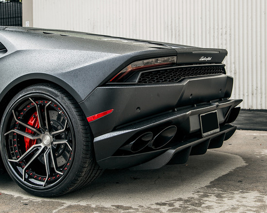 AP-LP610-610-HBFV Aeroform Carbon Fiber Rear Diffuser Lamborghini Huracan LP-610 15-17 Agency Power