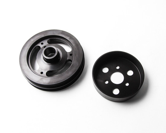 AP-FST-130-HBFV Lightweight Crank Pulley w/Water Pump Pulley Kit Ford Focus ST | Focus RS Agency Power