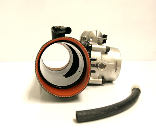AP-996TT-106-HBFV 84mm Race Plenum and Throttle Body 01-05 Porsche 996 Turbo Agency Power